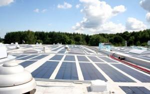Dimeco Pirey photovoltaic roof