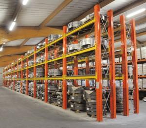 coil storage rack